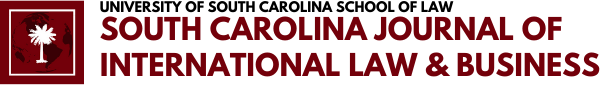 South Carolina Journal of International Law and Business